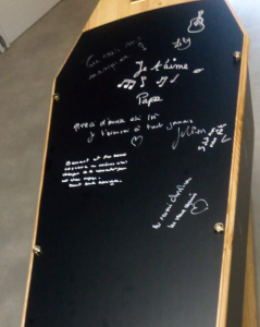 Cercueil message